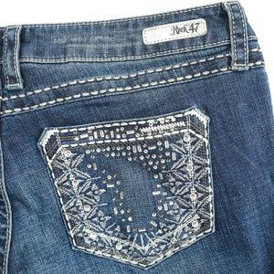 Wrangler Rock 47 Embellished Low Stretch Jeans